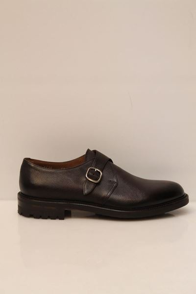 Picture of SHOES DOUCAL'S MAN 1438UF7I MARRONE