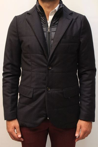 Picture of JACKET SEVENTY MAN CS0704 170010 BLU