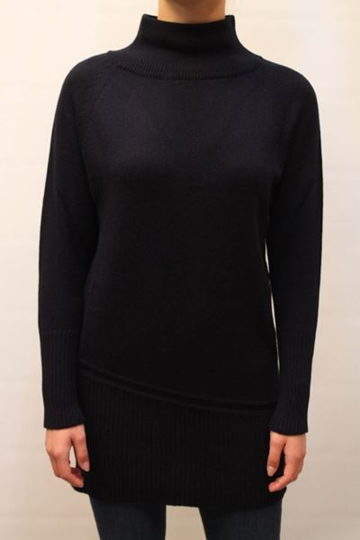Picture of SWEATER ALPHA STUDIO WOMAN AD 5260H BLU