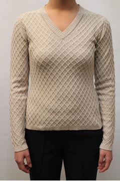 Picture of SWEATER ALPHA STUDIO WOMAN AD 5421A BEIGE
