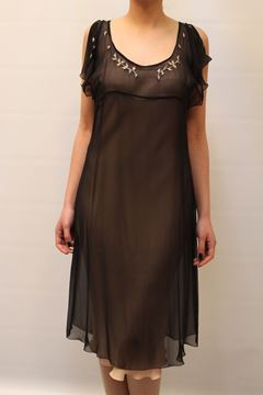 Picture of DRESS BLUMARINE 5570 NERO