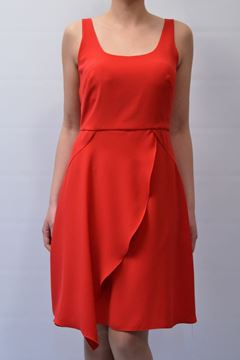 Picture of DRESS BIANCOGHIACCIO WOMAN VERVIO 17 RED