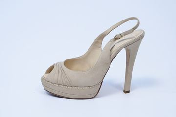 Picture of SHOES LEFT AND RIGHT WOMAN R58 BEIGE