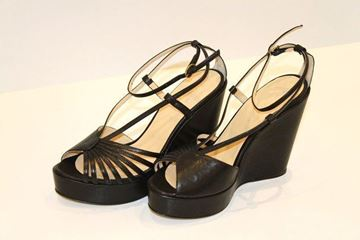 Picture of SHOES TWIN-SET WOMAN C80910 NERO