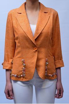 Picture of JACKET CLIPS MORE WOMAN L652 1622 ARANCIO