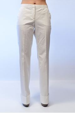 Picture of PANTS BLUGIRL BY BLUMARINE WOMAN 6513 BLUFIN BIANCO