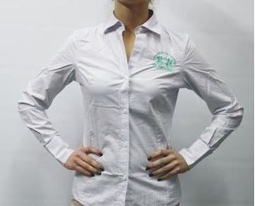 Picture of SHIRT LA MARTINA WOMAN 9PESHIWS7393 BIANCO/LILLA