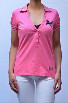 Picture of POLO FRANKIE MORELLO DONNA F201 4200 FUXIA