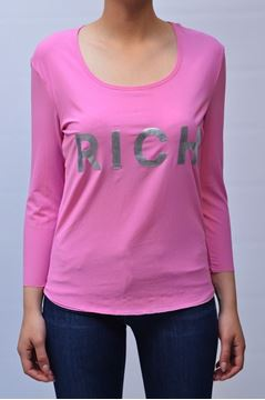 Picture of MAGLIA RICHMOND WOMAN C32653969 ROSA