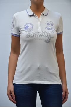 Picture of POLO LA MARTINA WOMAN S/S 296 BIANCO