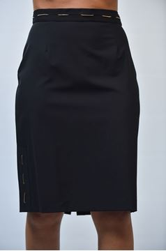 Picture of SKIRT BLUEMARINE WOMAN 9343 BLACK