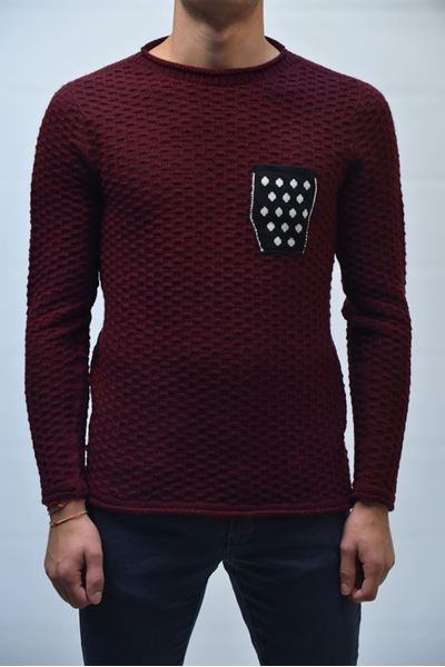 Picture of JERSEY V2 BRAND MAN MUTMBO BORDEAUX
