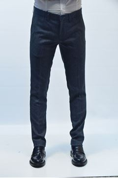 Picture of PANTS DIMATTIA MAN GENOVA BRISTOL BLUE