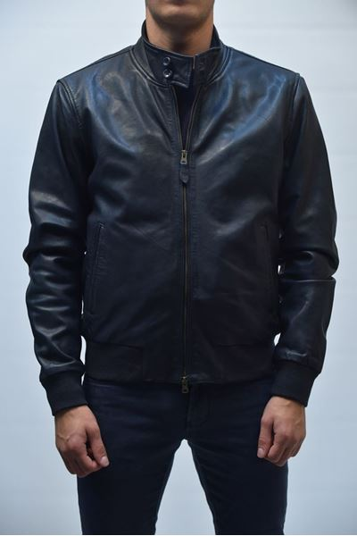 Picture of JACKET PROLEATHER MAN JMJACK P LGW BLUE