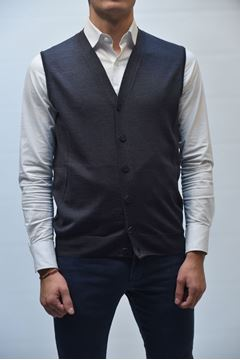 Picture of GILET BECOME MAN 542285A GREY