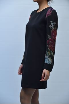 Picture of DRESS GRETHA MILANO WOMAN G.V029.673 BLACK