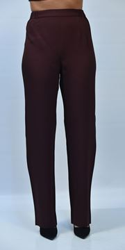 Picture of PANTS WOMAN PERSONA NOME D.INV. BORDEAUX