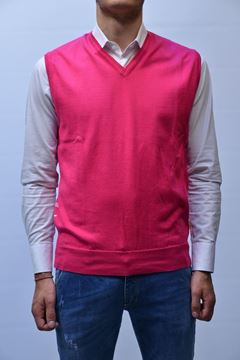 Picture of GILET BECOME MAN 520225P FUXIA