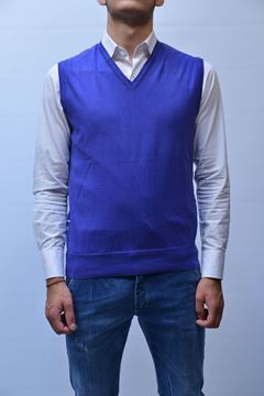 Picture of GILET BECOME MAN 520225P VIOLET