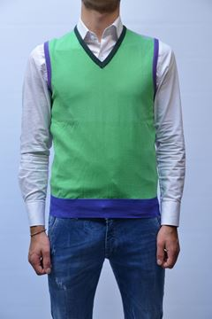 Picture of GILETJACKET BECOME MAN 520226P GREEN