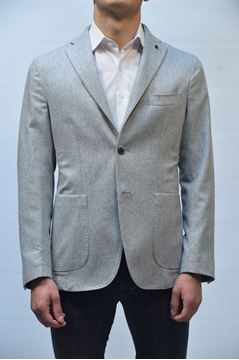 Picture of JACKET JERRY KEY MAN 1862 LIGHT GREY