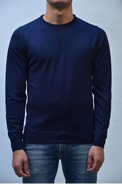 Picture of JERSEY +39 MASQ MAN MA0300 BLUE