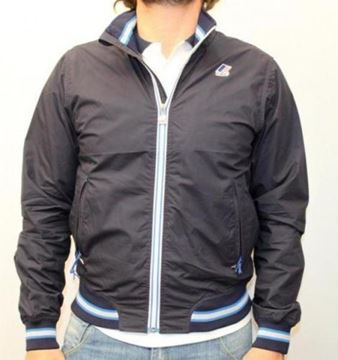 Picture of WINTER JACKET K-WAY MAN TORNADO BASI BLUE