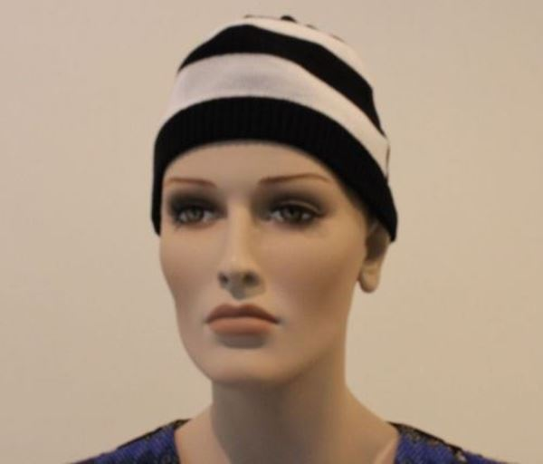 Picture of HAT ARMANI JEANS WOMAN N5420 ZQ WHITE BLACK