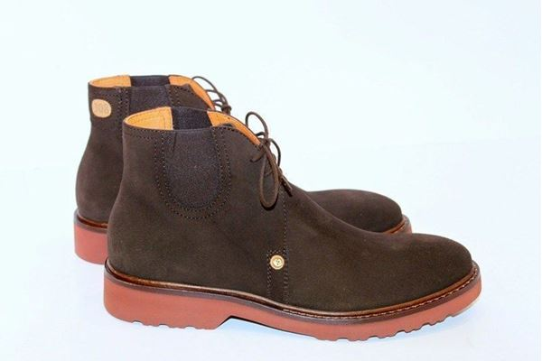 Picture of SHOES CESARE PACIOTTI 1° LINEA MAN PC16308 BROWN