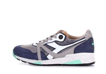 Picture of SHOES DIADORA MAN H HIDE CAMO GREY BLUE