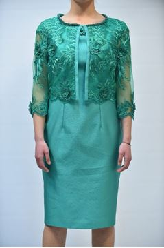 Picture of DRESS & JACKET ANTONIO D'ERRICO 552232+572623 VERDE
