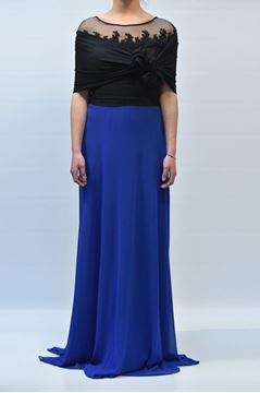 Picture of DRESS BAGATELLE ANIPUL NI2341 NERO BLUETTE