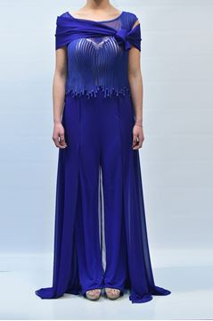 Picture of JUMPSUIT BAGATELLE WOMAN AJARA 11512 BLUETTE