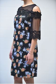 Picture of DRESS GRETHA MILANO WOMAN V060 2244 BLACK