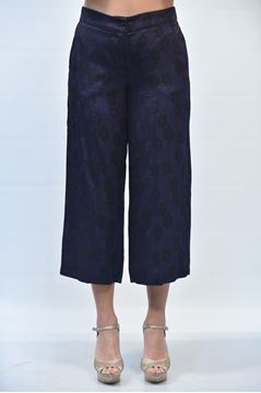 Picture of PANTS GRETHA MILANO WOMAN P041 2201 BLUE