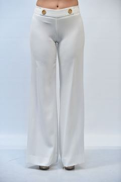 Picture of PANTS ACCESS FASHION WOMAN 5018 433 WHITE