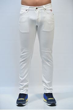 Picture of JEANS POP 84 MAN BL19 TORINO BIANCO