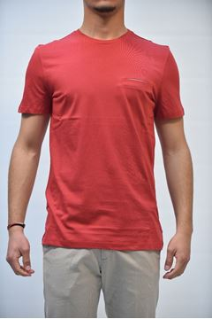 Picture of T-SHIRT MAN +39 MASQ MTA060052 ROSSO