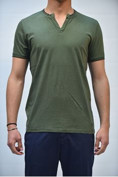 Picture of T-SHIRT DIKTAT D37132 VERDE
