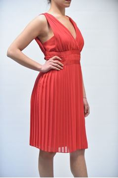 Picture of DRESS NENETTE ARVEDA ROSSO