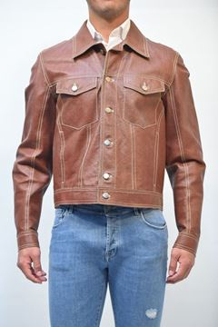 Picture of JACKET MAN COMPAGNIA DELLE PELLI 22070 MARRONE