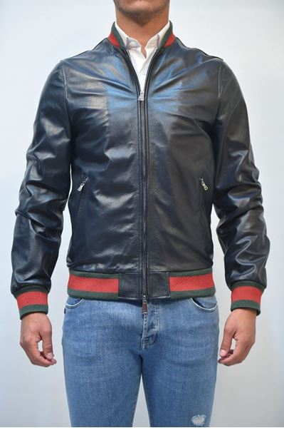Picture of JACKET MAN ALESSANDRINI I1304K101 BLU