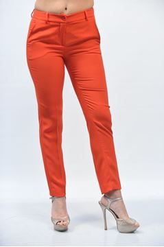 Picture of PANTS GRETHA MILANO WOMAN G P018 2228 ROSSO