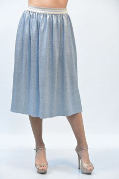 Picture of SKIRT GRETHA MILANO G G012 2198 ARGENTO