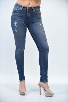 Picture of JEANS POP 84 WOMAN GIULIA B L.263 BLU