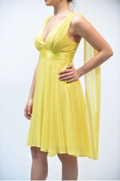 Picture of DRESS NENETTE AVERNA GIALLO
