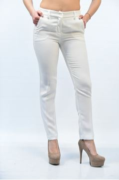 Picture of PANTS GRETHA MILANO WOMAN G P018 2228 BIANCO
