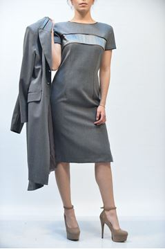 Picture of DRESS MARIA GRAZIA SEVERI Z336/Z412 GRIGIO