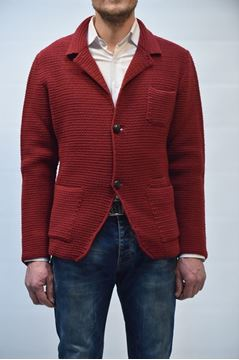 Picture of CARDIGAN PLUSULTRA MAN CA4350 ROSSO