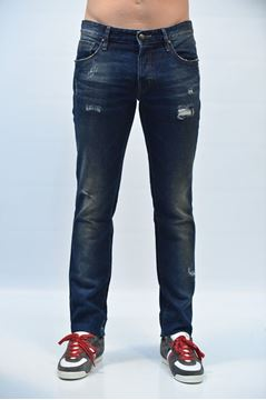 Picture of PANTS JUST CAVALLI MAN LA0016N30220 BLU